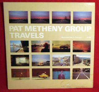 Pat Metheny Group Travels ECM Double Album NMINT Vinyl