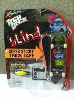 Tech Deck Blind 96mm Skateboard Ronnie Creager Super Sticky Trick Tape