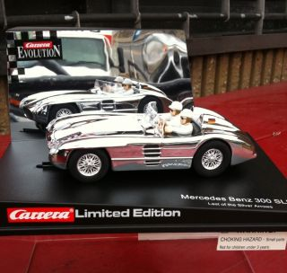 Carrera 25441 Mercedes Benz 300 SLR Last of The Silver