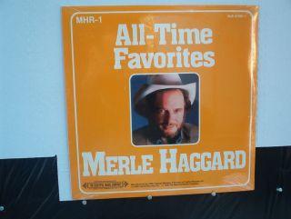 Merle Haggard SEALED All Time Favorites Treasury of Love Songs Albums
