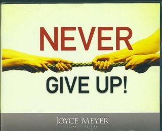 Never Give Up Joyce Meyer 6 CDs