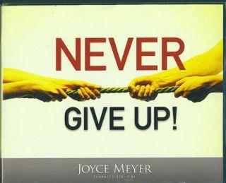 Never Give Up Joyce Meyer 6 CDs