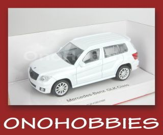 Rastar Mercedes Benz GLK Class 1 43 Die Cast New White