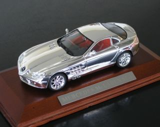 Wonderful Mercedes Benz SLR McLaren 2004 1 43 Chrome