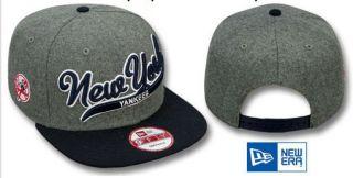 Melton New York Baseball Snapback Hats Hip Hop bboy Cap Adjustable
