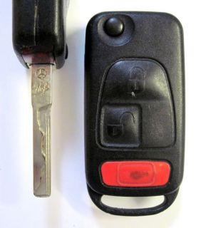 MERCEDES REMOTE FLIP KEY CONTROL KR55 KEYLESS ENTRY FOB TRANSMITTER