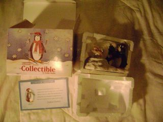 Debbie Mumm 1999 Limited Edition Mervyns Snow Globe NIP Mummfords
