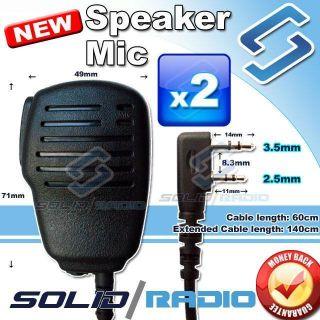 Pro Hand Speaker Mic for BAOFENG UV 5R TH F8 FD 880 TH UVF1 KG