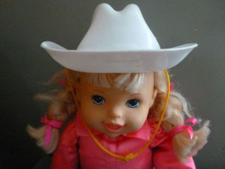Talking Giddy Up Girl Doll MGA Entertainment Horse Cowgirl Baby Doll