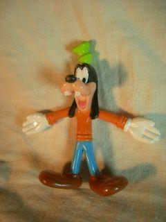 Disney World Bendy Figure Goofy Bendable Figurine