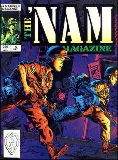 Vintage Marvel Vietnam War Michael Golden Soldier USMC Marines
