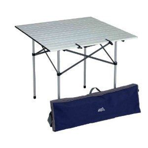 Aluminum Roll Up Folding Outdoor Camping Picnic Table