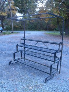 Nursery Plant Shelving Shelf Rack Stand Commercial Metal Heavy Duty