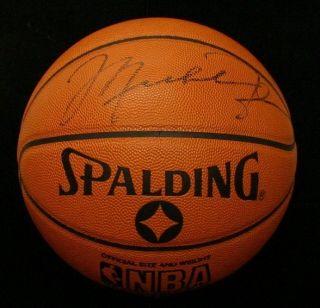 Michael Jordan Chicago Bulls Signed Autographed Basketball JSA COA
