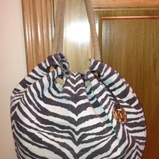 Michael Michael Kors Marina Large Shoulder Tote Tiger Print