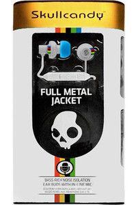 Skullcandy FMJ Full Metal Jacket Vintage Road In Ear Headphones w/ In