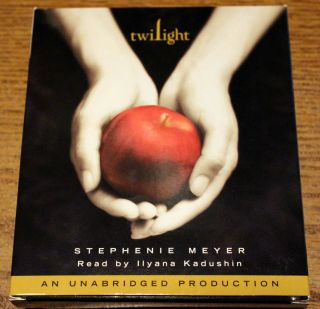 Twilight Audiobook by Stephenie Meyer 2005 CD Unabridged