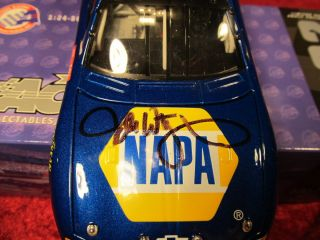 Driver Signed 2002 15 Michael Waltrip Napa Monte Carlo NASCAR Action