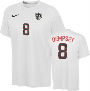 Clint Dempsey T Shirt Team USA 8 Nike Youth