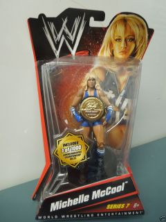 WWE WWF Wrestling Michelle McCool 1 of 1000 Series 7 Action Figure NIP