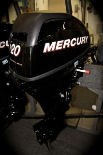 Mercury Outboard 20 HP Short Manual Engine 2012