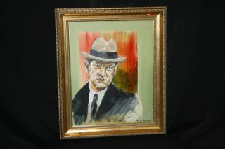 Michael Collins Irish Republican Army Patriot Oil Portrait Painting