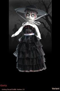 Mezco Living Dead Dolls Series 22 Goria Variant Doll New