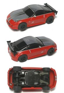 2009 Micro Scalextric Nissan 350Z Slot Car Set Only A