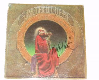 Mickey Hart Signed Autographed Grateful Dead Album Blues for Allah LP