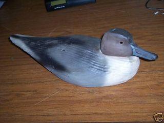 Duck Decoy Signed Michael Susan Veasey Ducks Unlimite