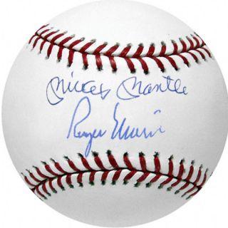 Roger Maris Mickey Mantle Replica Signed MLB Baseball