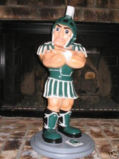 Michigan State Spartans Sparty Sculpture