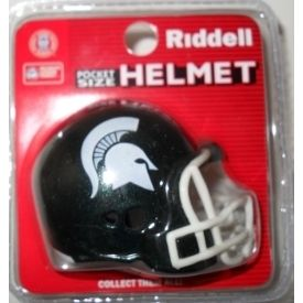 Michigan State Spartans Revolution Pocket Pro Helmet