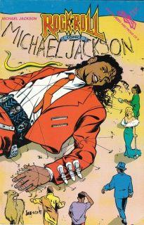 Michael Jackson Rock N Roll Comics 36