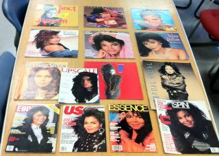JANET JACKSON RARE COLLECTIBLES!!! MICHAEL JACKSONS TALENTED SISTERS
