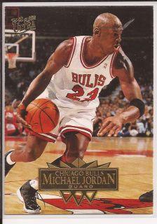 95 96 Fleer Ultra Michael Jordan Chicago Bulls