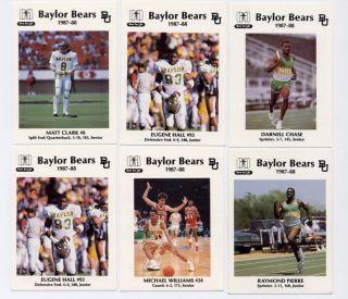 Michael Williams 1987 Baylor University Bears Hillcrest