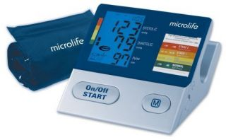 Blood Pressure Monitor Irregular Heartbeat Detection Microlife