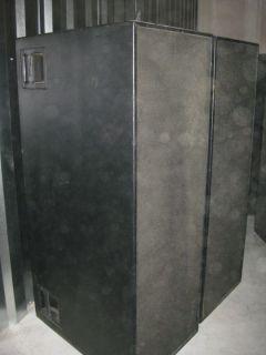 Meyer Sound DS 2 Concert Speaker Cabinet Pair Dual 15