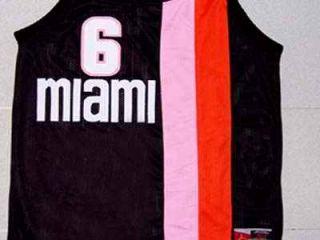 Lebron James Miami Floridians Retro Jersey New Any Size