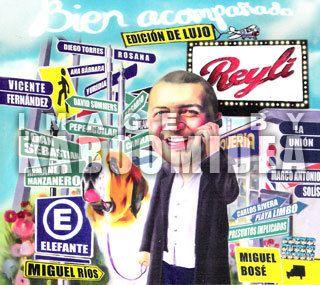 Bien Acompañado Edicion de Lujo New Miguel Bose Yuridia RIOS Y