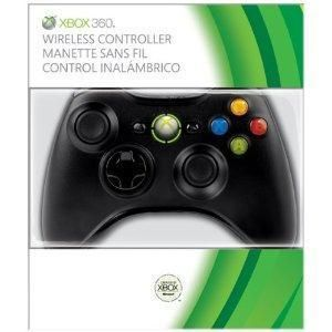 Microsoft Xbox 360 Wireless Controller Black Xbox
