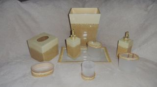 Mike and Ally TWILIGHT Cream Bathroom Accessories Bath Set SOAP DISH