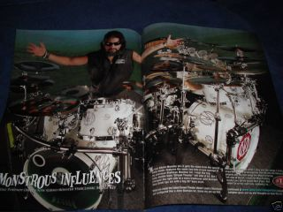 Tama Albino Monster Drums Mike Portnoy 2PAGE 2006 Ad