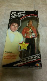 Unopened Michael Jackson Doll