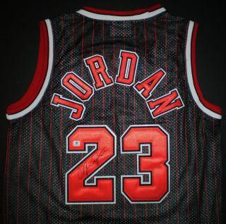 Michael Jordan Hand Signed 100% Sewn Adidas Chicago Bulls Jersey