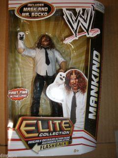 WWE Mankind Mick Foley Series 17 Elite Figure