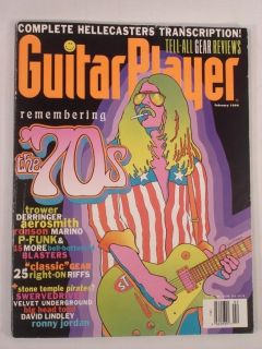 February 1994 the 70s Robin Trower Mick Ronson Velvet Underground
