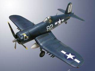 18 Scale Model Military Airplane Plane Plastic Aircraft F4U Corsair