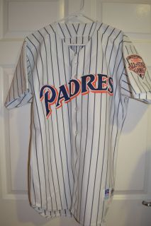 1992 San Diego Padres Game Used Jersey Mike Roarke